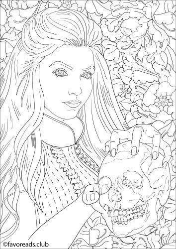 Best ideas about Vampire Coloring Pages For Adults . Save or Pin 11 best vampire color sheets images on Pinterest Now.