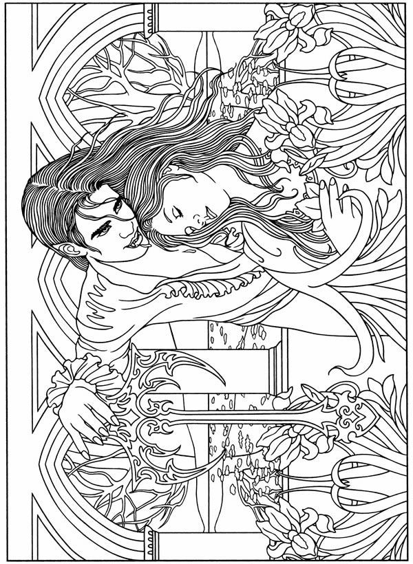 Best ideas about Vampire Coloring Pages For Adults . Save or Pin Eileen Lucas Publications Vampire Coloring Pages Now.