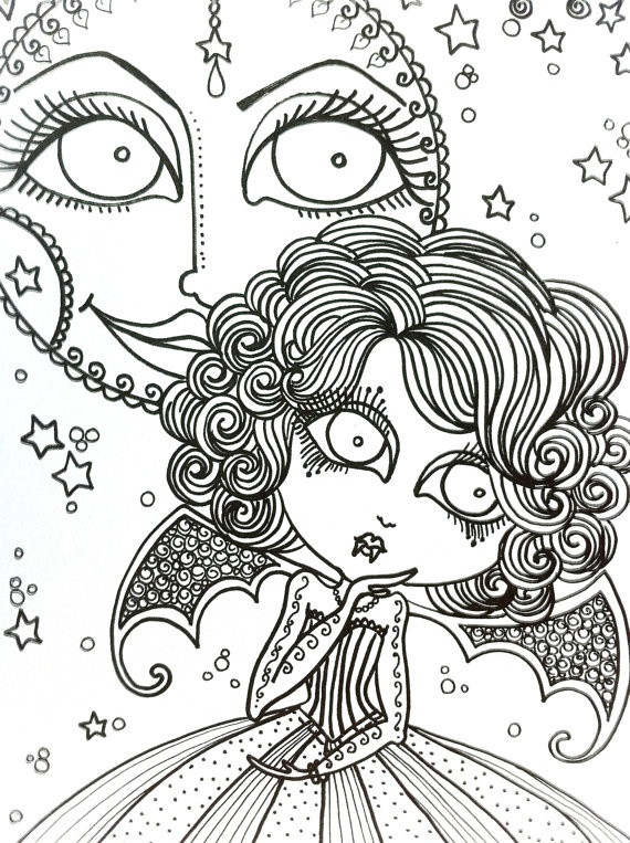 Best ideas about Vampire Coloring Pages For Adults . Save or Pin VAMPIRE Coloring Book for you to Color lots of by Now.