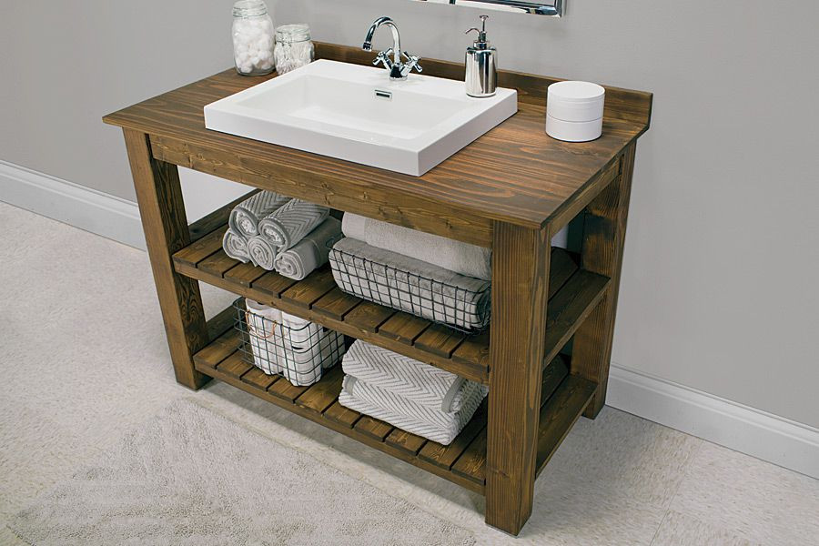 Best ideas about Vanity Plans DIY . Save or Pin 13 DIY Bathroom Vanity Plans You Can Build Today Now.