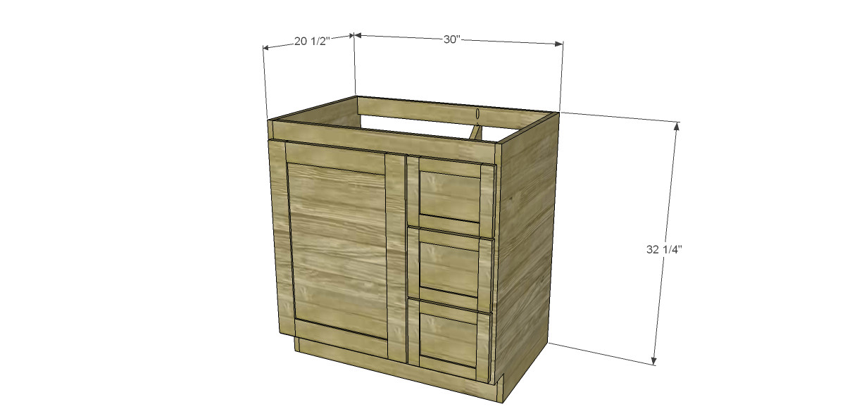 Best ideas about Vanity Plans DIY . Save or Pin free DIY woodworking plans to build a custom bath vanity Now.