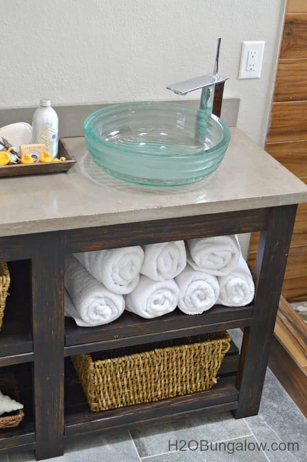 Best ideas about Vanity Plans DIY . Save or Pin 7 Chic DIY Bathroom Vanity Ideas For Her Now.