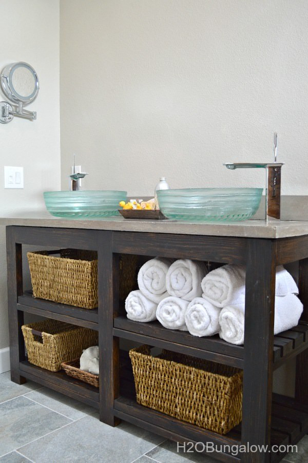 Best ideas about Vanity Plans DIY . Save or Pin Creative DIY Bathroom Vanity Projects • The Bud Decorator Now.