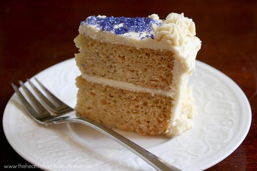 "Best ideas about Vegan Birthday Cake Recipe . Save or Pin Vanilla Vegan Birthday Cake with Buttercream"" Icing Now."