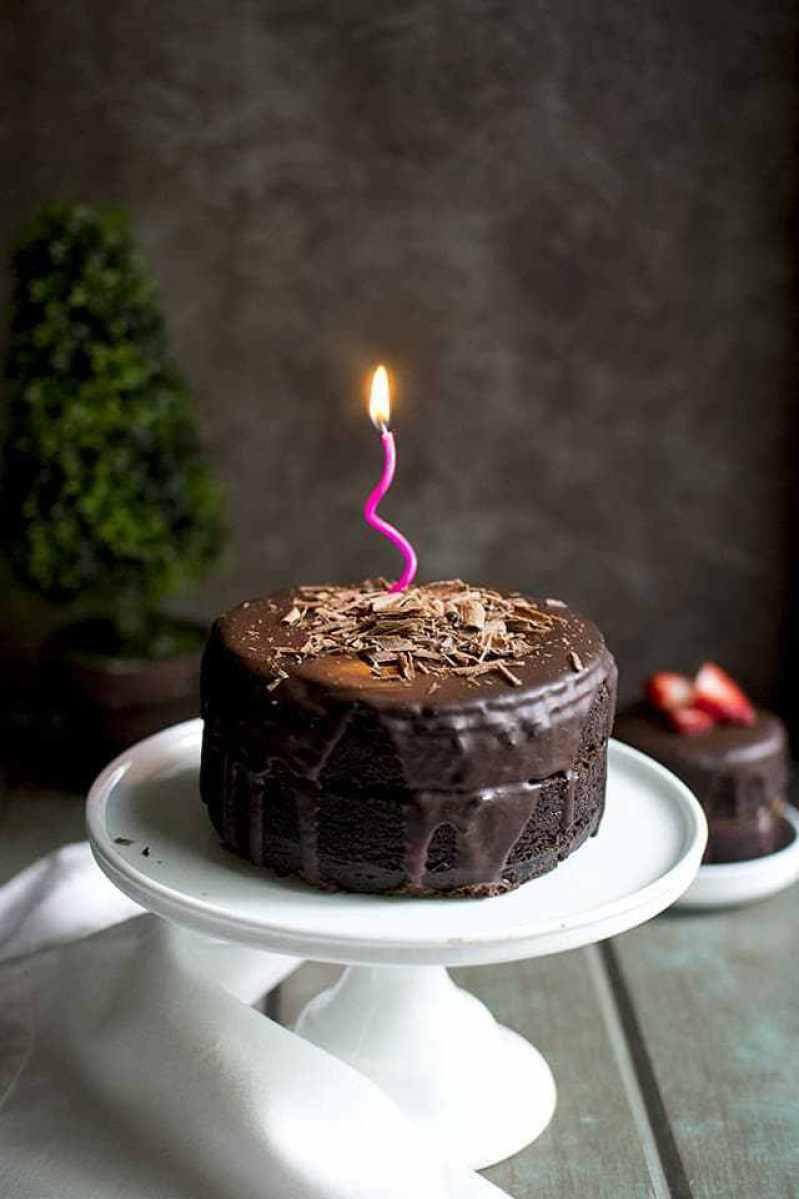Best ideas about Vegetarian Birthday Cake Recipes . Save or Pin 28 Birthday Worthy Vegan Layer Cakes Wallflower Kitchen Now.