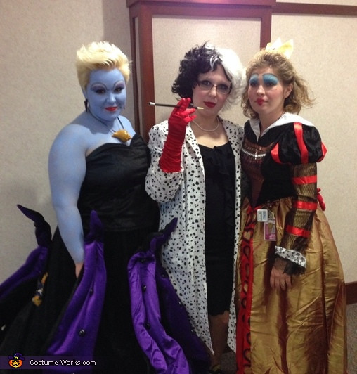 Best ideas about Villain Costumes DIY . Save or Pin Disney Villains Group Halloween Costume 3 5 Now.