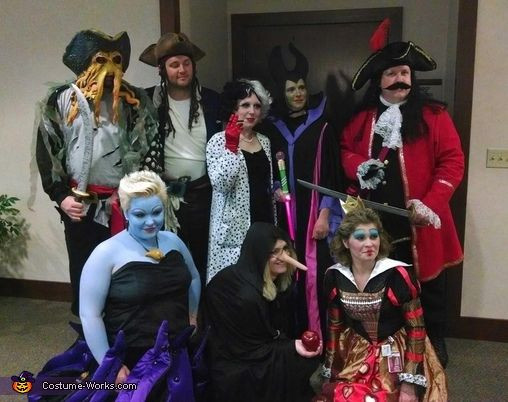 Best ideas about Villain Costumes DIY . Save or Pin Disney Villains Group Costume Now.