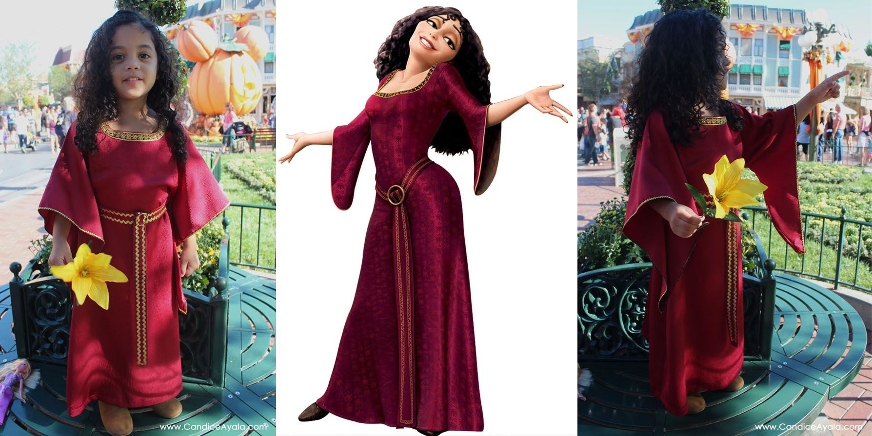 Best ideas about Villain Costumes DIY . Save or Pin Halloween at Disneyland 2015 DIY Mother Gothel Costume Now.