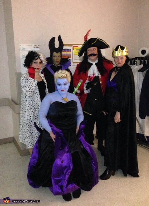 Best ideas about Villain Costumes DIY . Save or Pin Disney Villains Group Halloween Costume 2 5 Now.