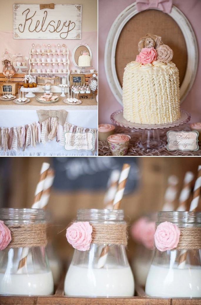 Best ideas about Vintage Birthday Party . Save or Pin Kara s Party Ideas Vintage Cowgirl 5th Birthday Party Now.
