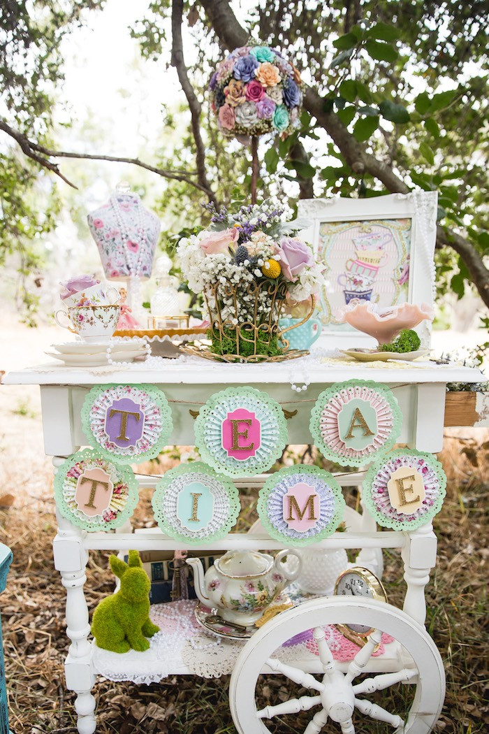 Best ideas about Vintage Birthday Party Decorations . Save or Pin Kara s Party Ideas Vintage Tea Party Now.