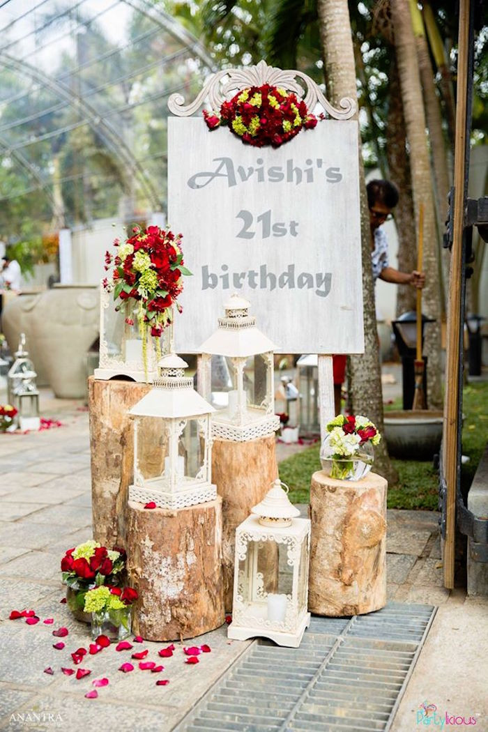 Best ideas about Vintage Birthday Party . Save or Pin Kara s Party Ideas Rustic Vintage 21st Birthday Party Now.