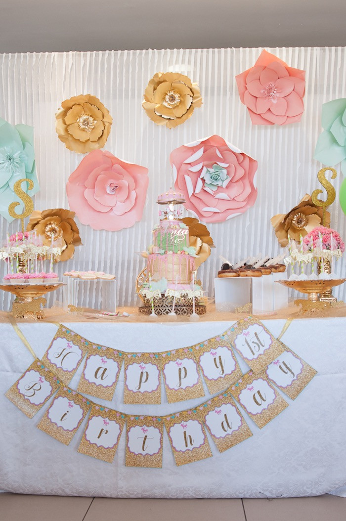Best ideas about Vintage Birthday Party . Save or Pin Kara s Party Ideas Vintage Carousel 1st Birthday Party Now.