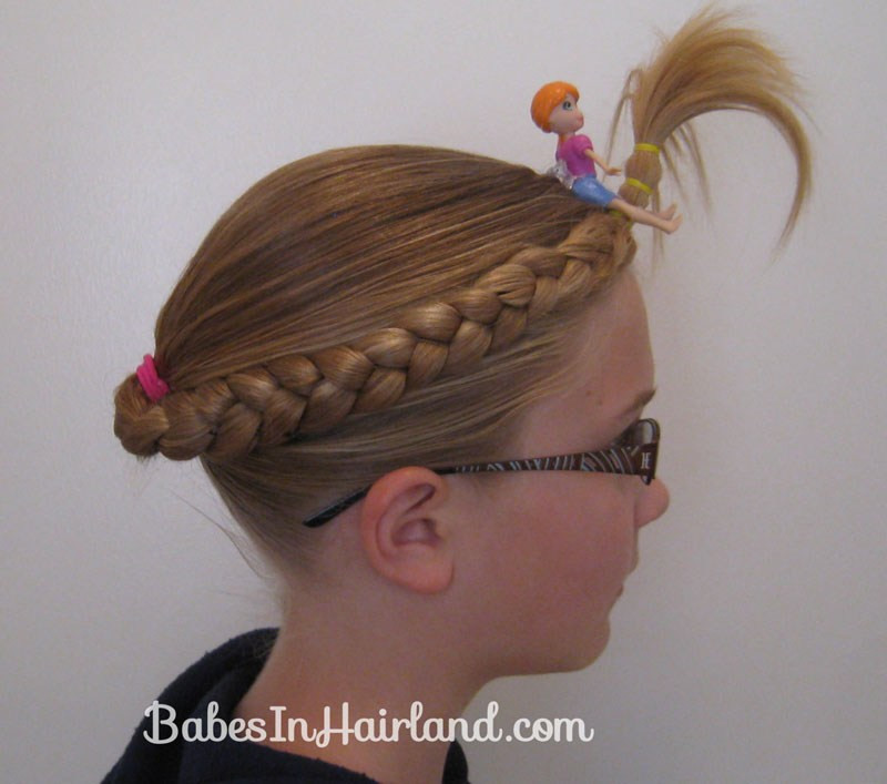 Best ideas about Wacky Hairstyles Easy To Do . Save or Pin Crazy Hair Day Babes In Hairland Now.