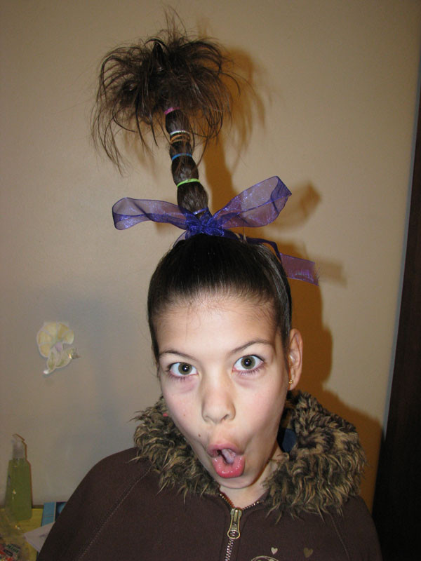 Best ideas about Wacky Hairstyles Easy To Do . Save or Pin Hunyville Happenings Crazy Hair Day Now.