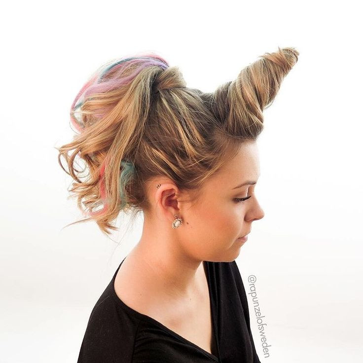Best ideas about Wacky Hairstyles Easy To Do . Save or Pin Perfect for VBS crazy hair day for Hadley Bear Now.
