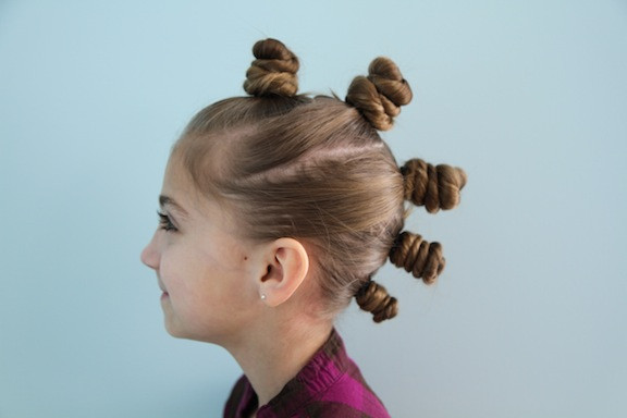 Best ideas about Wacky Hairstyles Easy To Do . Save or Pin The Bun Hawk Crazy Hair Day Hairstyles Now.