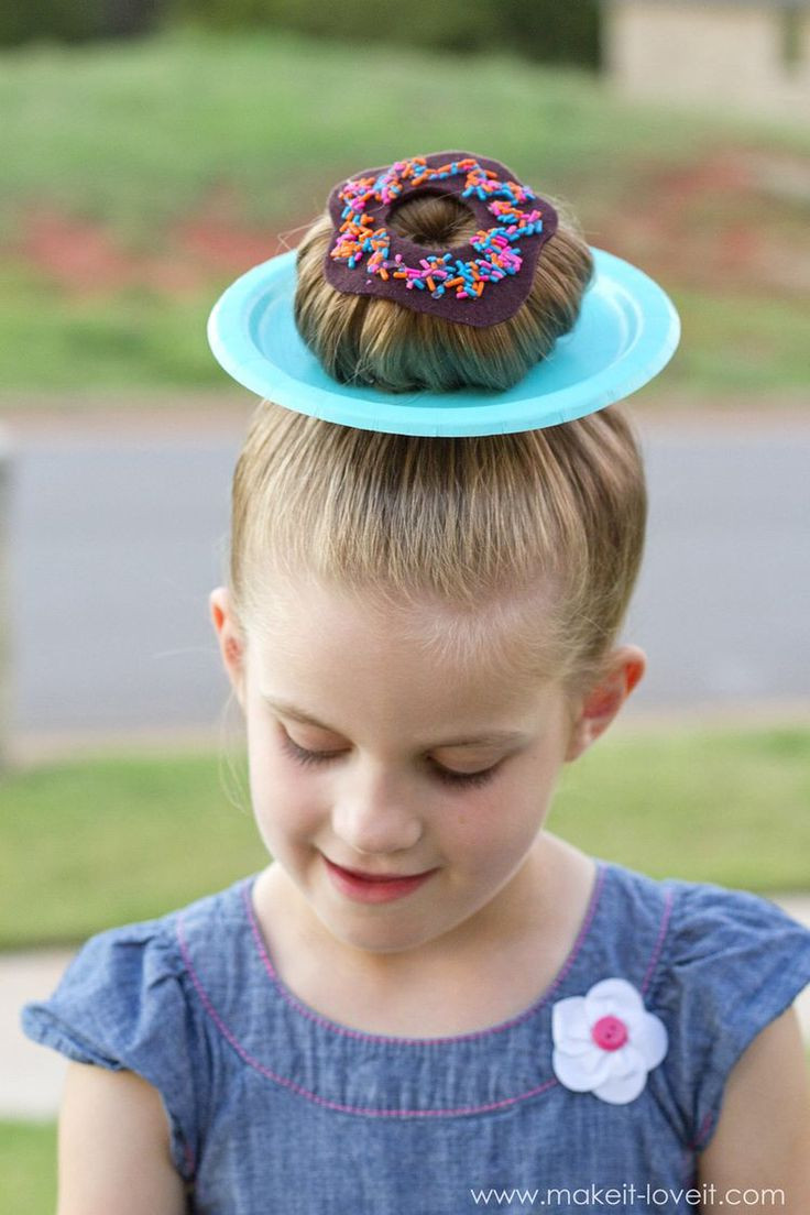 "Best ideas about Wacky Hairstyles Easy To Do . Save or Pin 25 CLEVER IDEAS for ""Wacky Hair Day"" at SCHOOL Now."