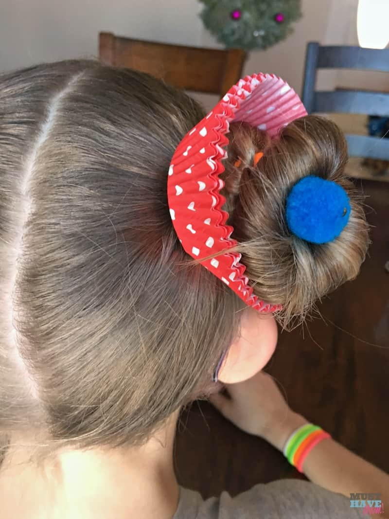 Best ideas about Wacky Hairstyles Easy To Do . Save or Pin Crazy Hair Day Ideas Girls Cupcake Hairdo Must Have Mom Now.