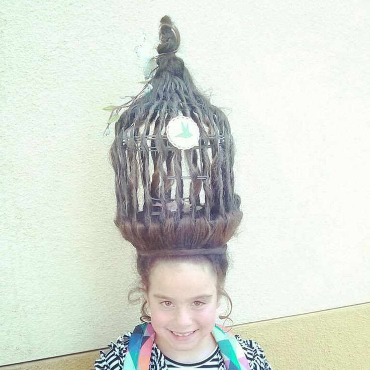 Best ideas about Wacky Hairstyles Easy To Do . Save or Pin 17 Best images about Crazy Hair Day on Pinterest Now.