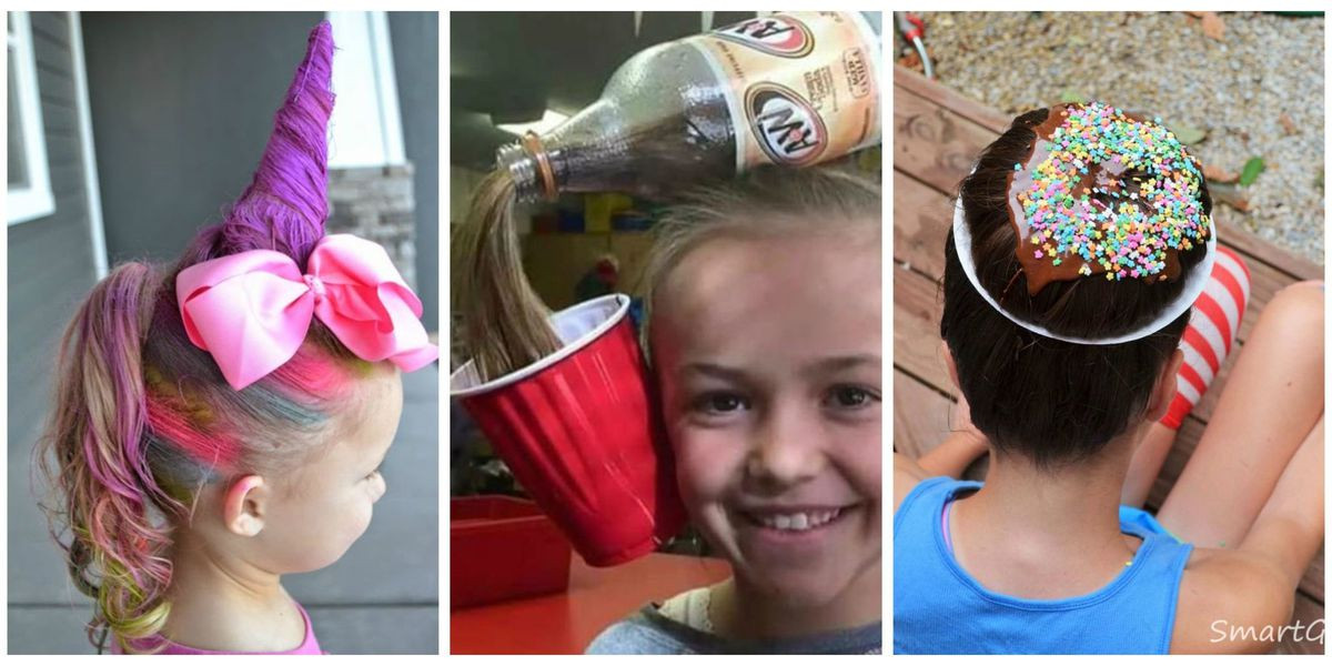Best ideas about Wacky Hairstyles Easy To Do . Save or Pin Crazy Hair Day Ideas Wacky Hair Styles Now.