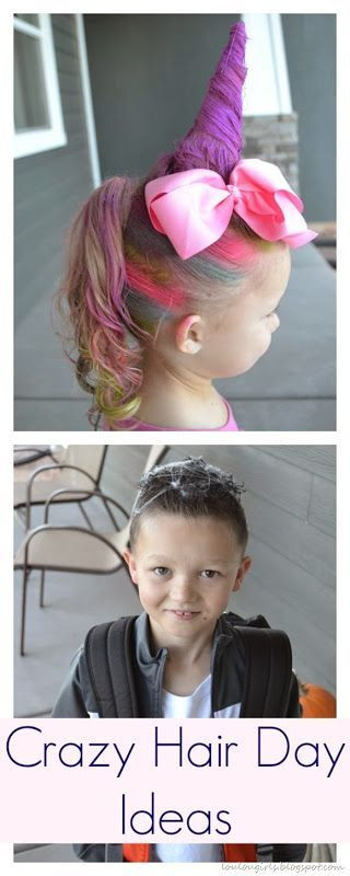 Best ideas about Wacky Hairstyles Easy To Do . Save or Pin Kid Ponies and My little pony on Pinterest Now.
