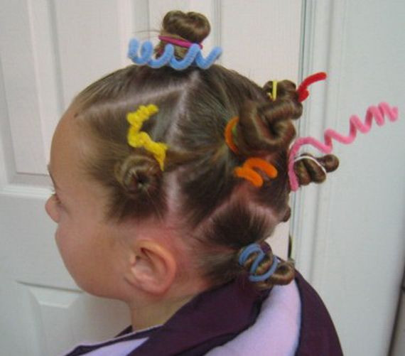 Best ideas about Wacky Hairstyles Easy To Do . Save or Pin Top Crazy Hairstyles Ideas for Kids 29 Now.