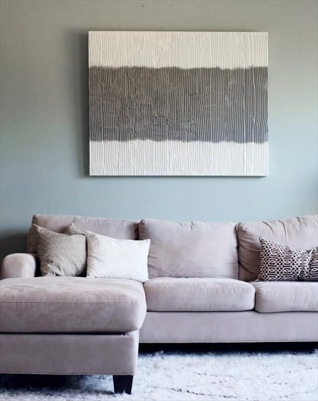 Best ideas about Wall Art Ideas For Living Room DIY . Save or Pin 16 DIY Awesome Wall Art Ideas Now.