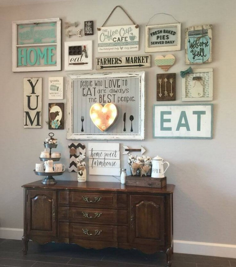 Best ideas about Wall Art Ideas For Living Room DIY . Save or Pin DIY Farmhouse Living Room Wall Decor GoodNewsArchitecture Now.