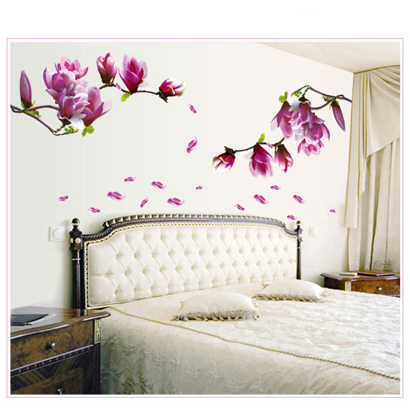 Best ideas about Wall Decals For Living Room . Save or Pin 1PCFlower Wall Sticker 3D Vinyl Wall Decals Living Room Now.
