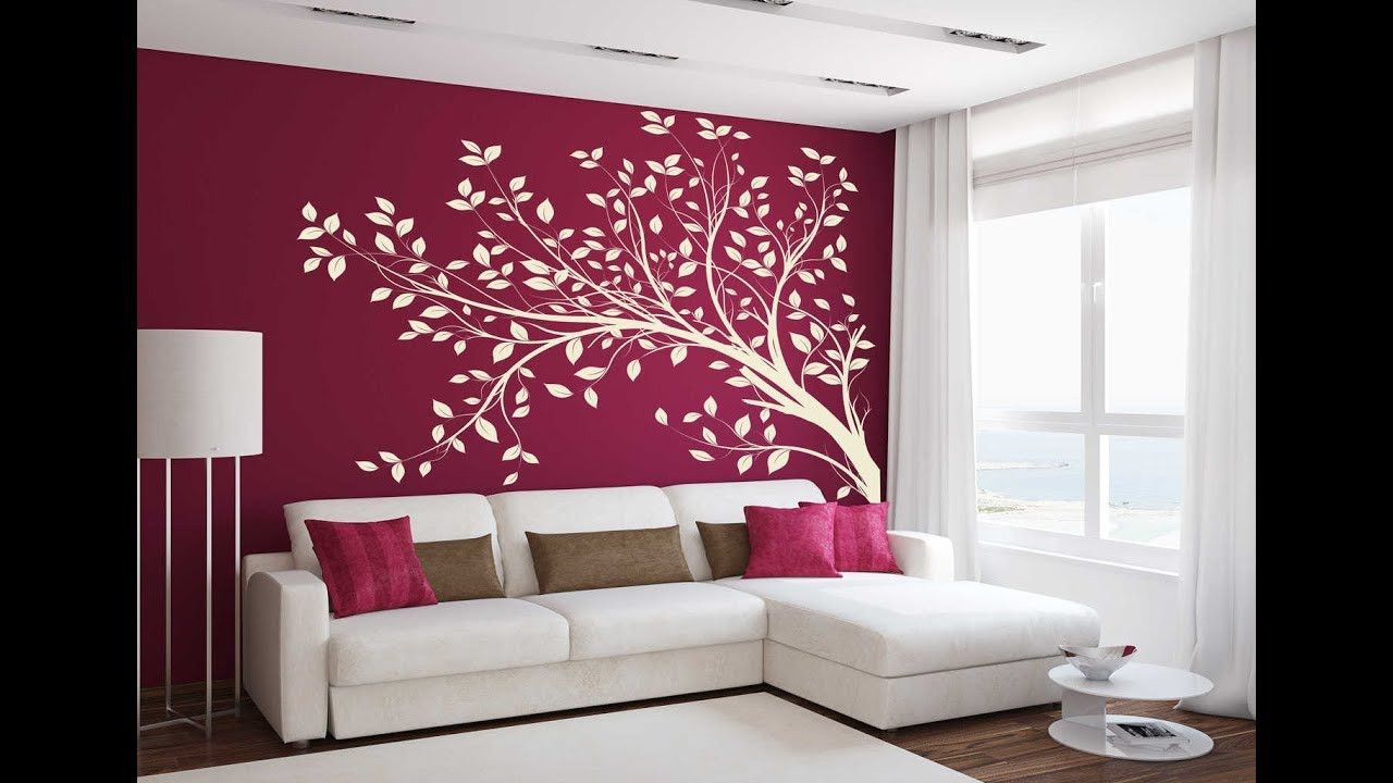 Best ideas about Wall Decals For Living Room . Save or Pin Wallpaper design for living room Home decoration ideas Now.