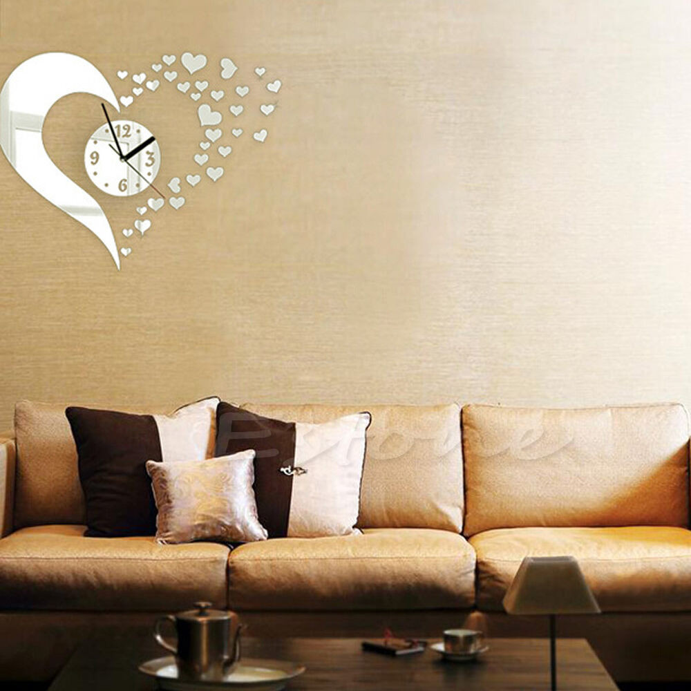 Best ideas about Wall Decals For Living Room . Save or Pin DIY 3D Home Modern Decor Wall Stickers Living Room Love Now.
