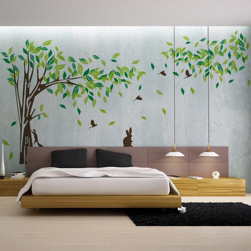 Best ideas about Wall Decals For Living Room . Save or Pin Living room Wall decals Bedroom wall sticker TV background Now.