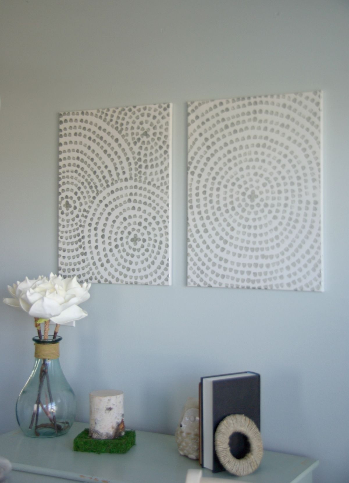 Best ideas about Wall Decors DIY . Save or Pin DIY Canvas Wall Art A Low Cost Way To Add Art To Your Home Now.