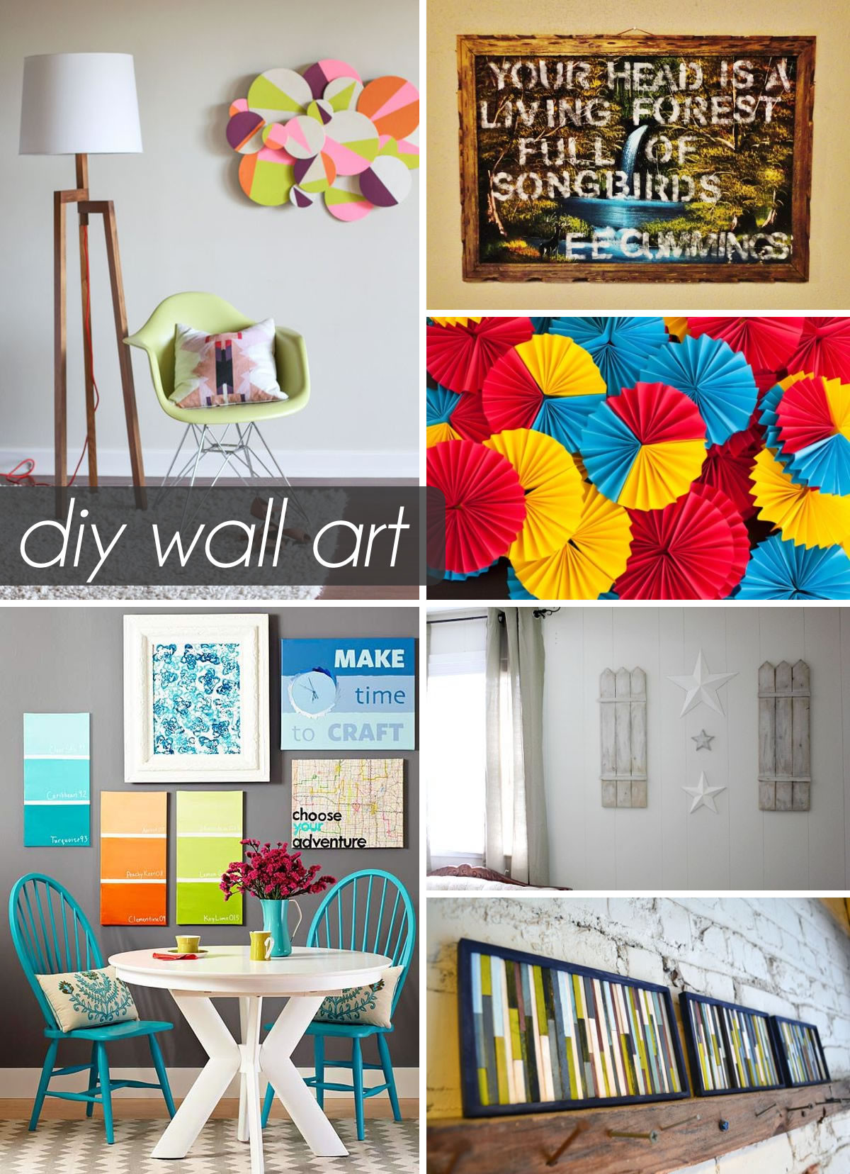 Best ideas about Wall Decors DIY . Save or Pin 50 Beautiful DIY Wall Art Ideas For Your Home Now.