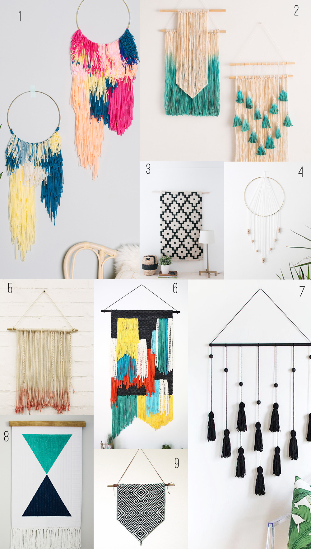 Best ideas about Wall Decors DIY . Save or Pin 9 AMAZING DIY WALL HANGINGS Tell Love and Party Now.