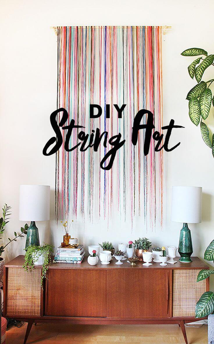Best ideas about Wall Decors DIY . Save or Pin 37 Best DIY Wall Hanging Ideas and Designs for 2019 Now.