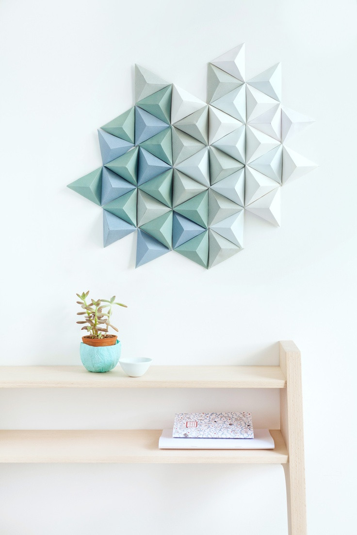 Best ideas about Wall Decors DIY . Save or Pin 20 Extraordinary Smart DIY Wall Paper Decor [Free Template Now.