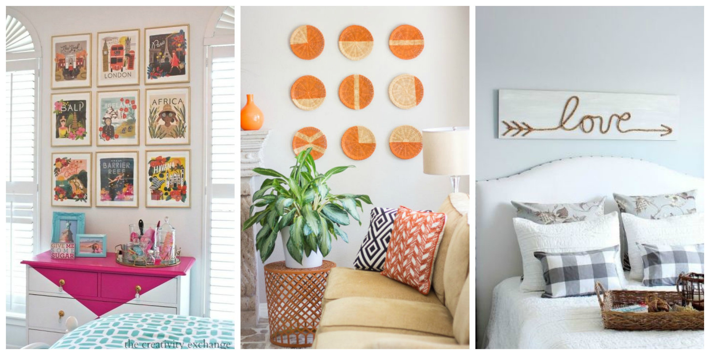 Best ideas about Wall Decors DIY . Save or Pin DIY Wall Art Affordable Art Ideas Now.