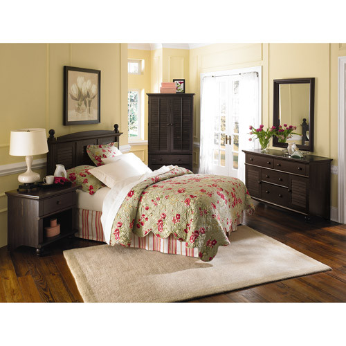Best ideas about Walmart Bedroom Sets . Save or Pin Sauder Harbor View Bedroom Furniture Collection Walmart Now.