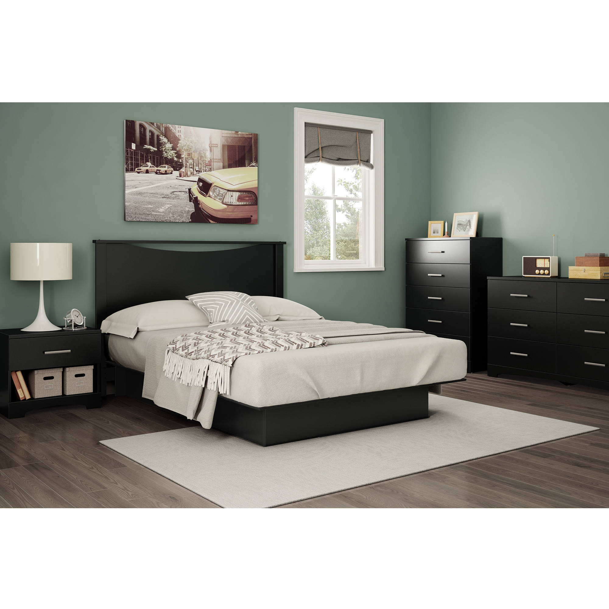 Best ideas about Walmart Bedroom Sets . Save or Pin South Shore Gramercy Bedroom Furniture Collection Now.