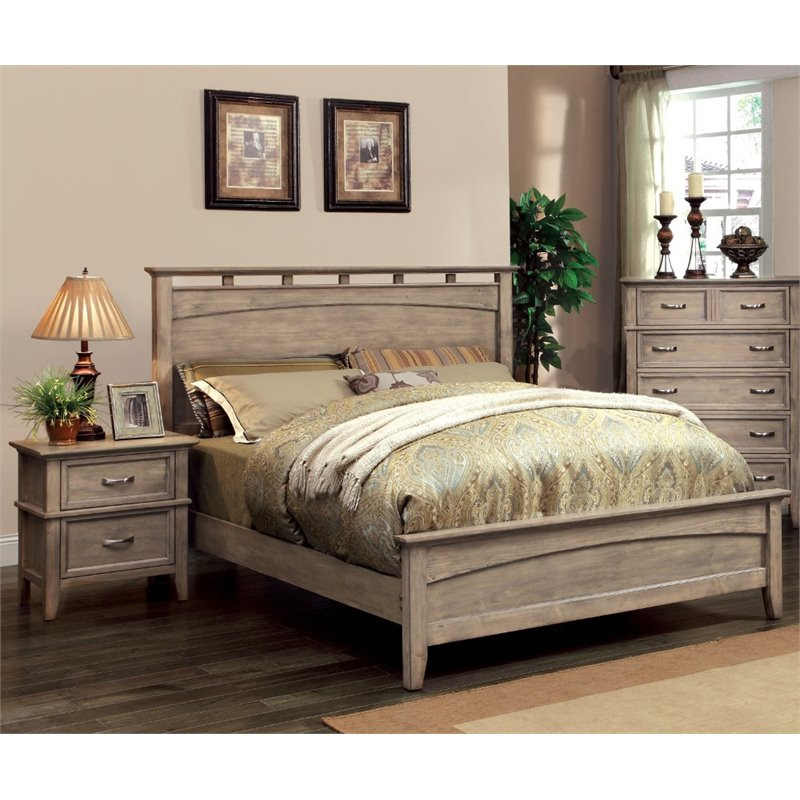 Best ideas about Walmart Bedroom Sets . Save or Pin Furniture of America Ackerson Coastal 2 Piece Queen Panel Now.
