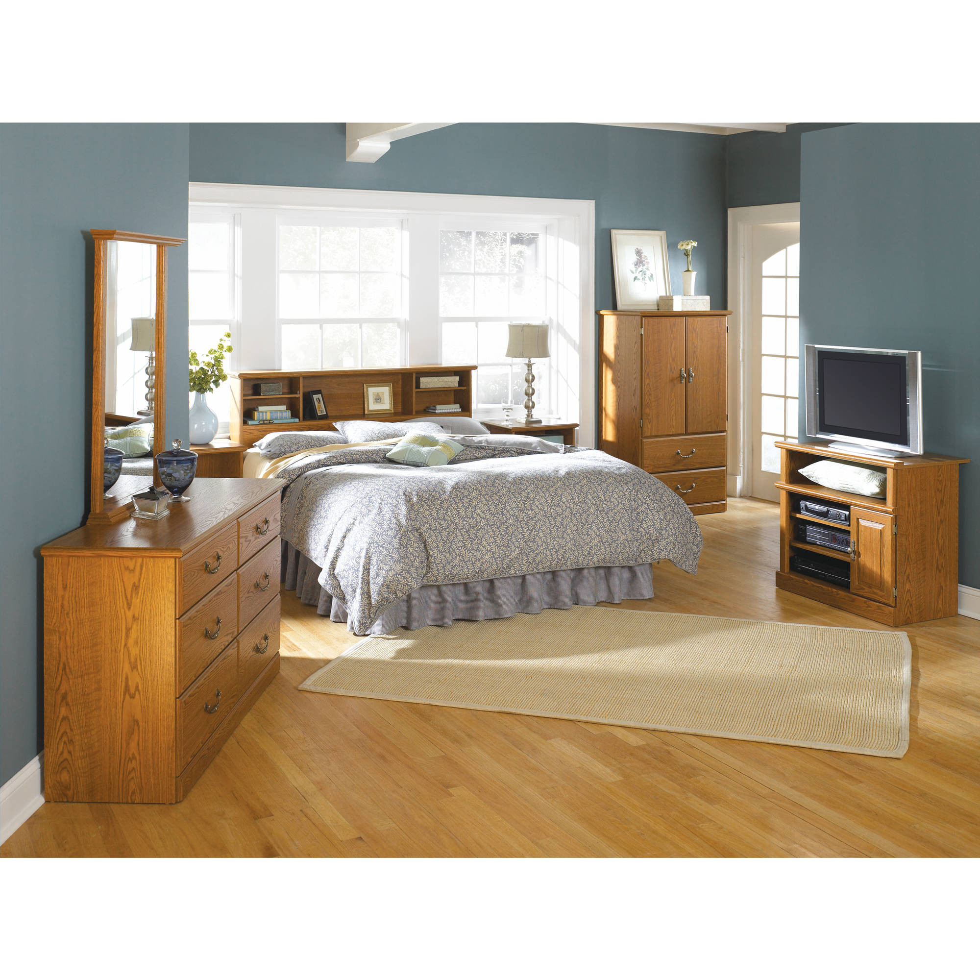 Best ideas about Walmart Bedroom Sets . Save or Pin Sauder Orchard Hills Bedroom Furniture Collection Now.