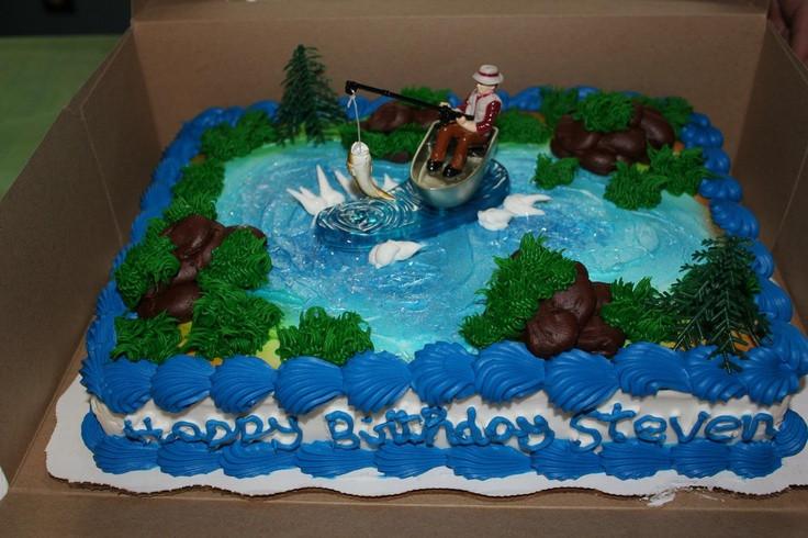 Best ideas about Walmart Birthday Cake Catalogue . Save or Pin fishing theme birthday cake walmart bakery $20 Now.