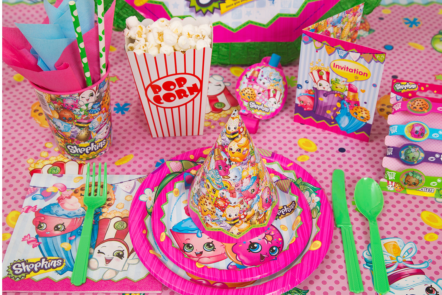 Best ideas about Walmart Birthday Decorations . Save or Pin Shopkins Party Supplies Walmart Now.