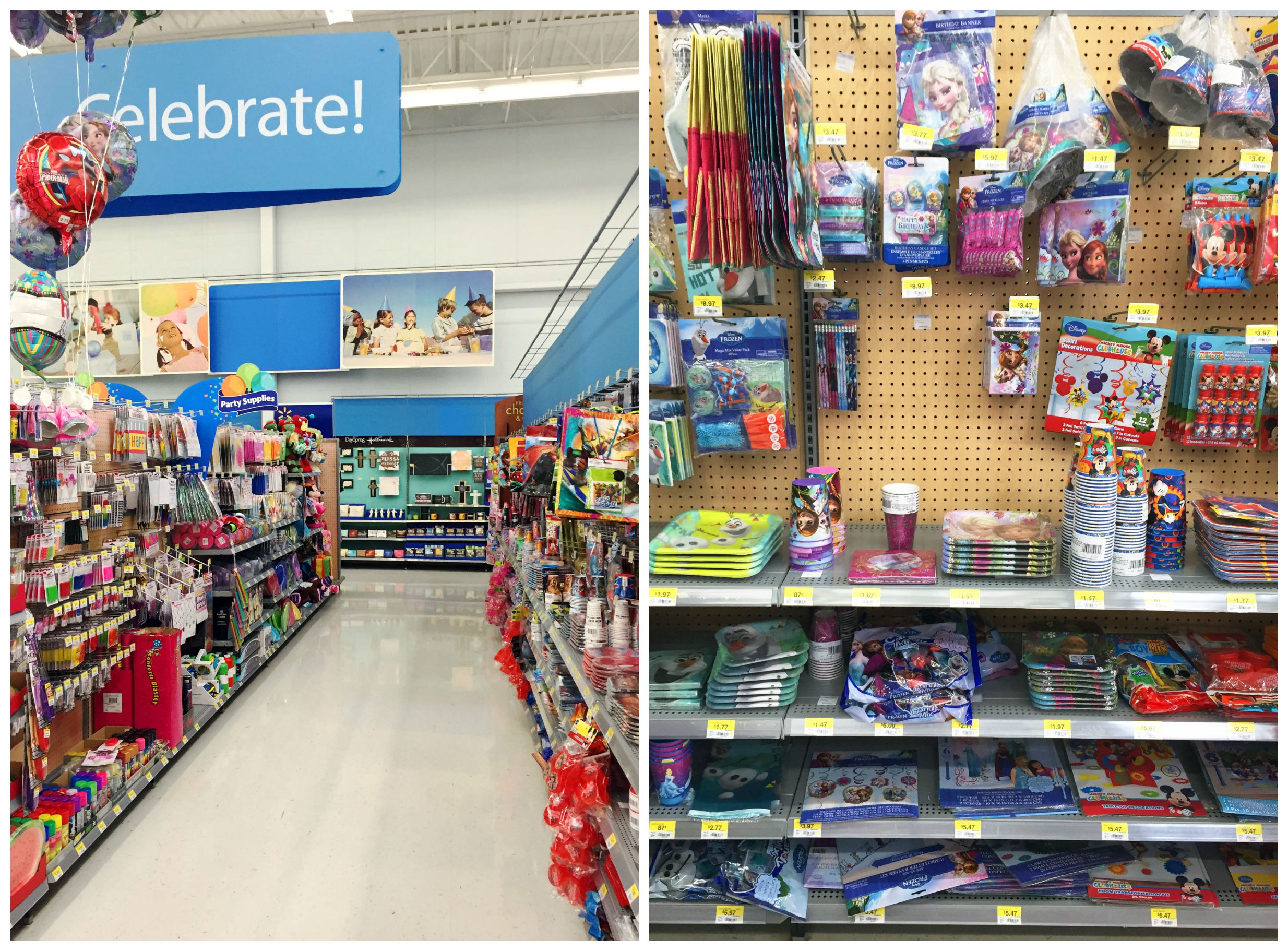Best ideas about Walmart Birthday Decorations . Save or Pin FROZEN Birthday Goody Bag Tutorial A Free Printable Now.