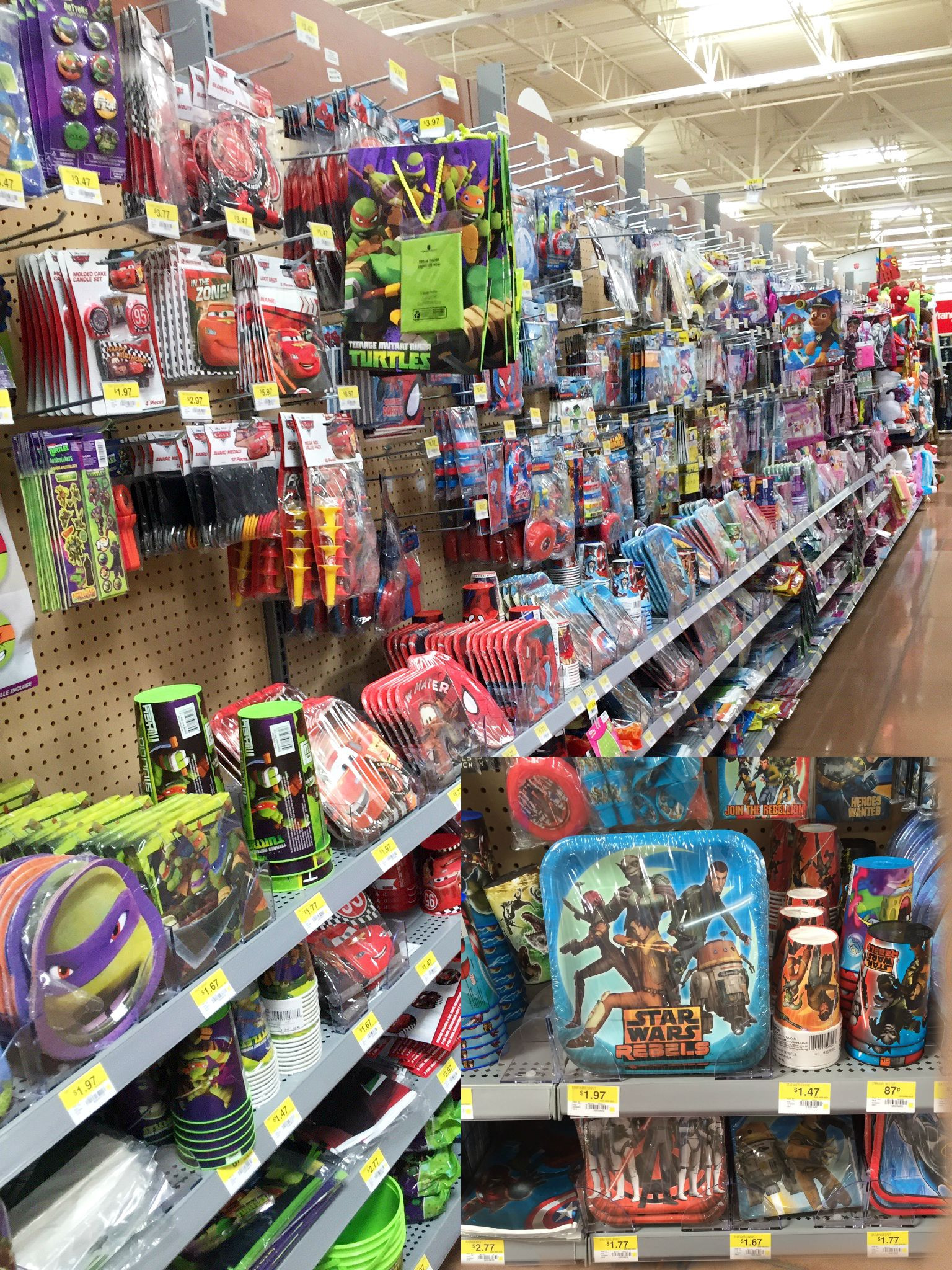 Best ideas about Walmart Birthday Decorations . Save or Pin Star Wars Rebels Party Ideas Eclectic Momsense Now.