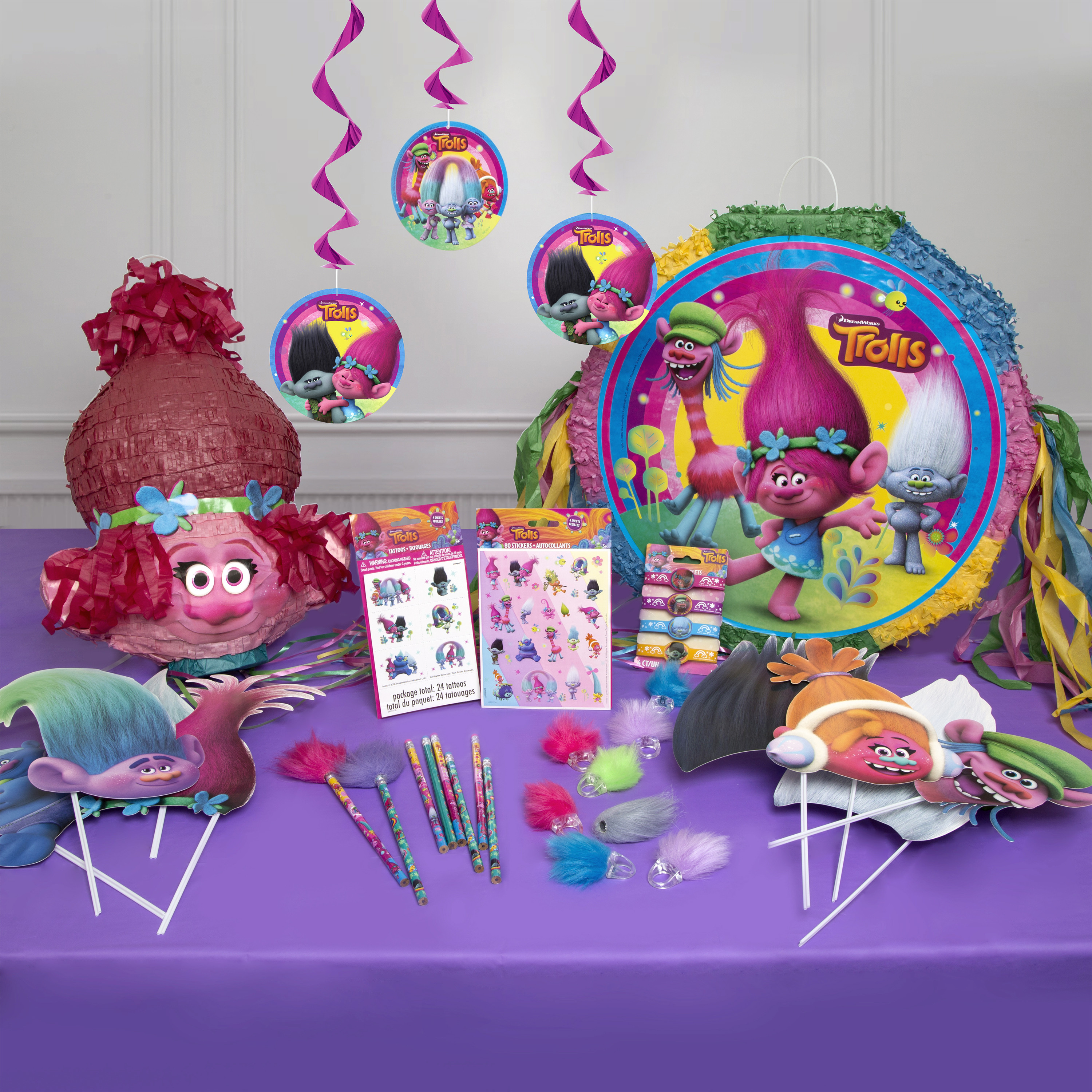 Best ideas about Walmart Birthday Decorations . Save or Pin Trolls Party Supplies Walmart Now.