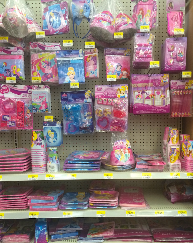 Best ideas about Walmart Birthday Decorations . Save or Pin Disney Princess at Walmart Our Potluck Family Now.