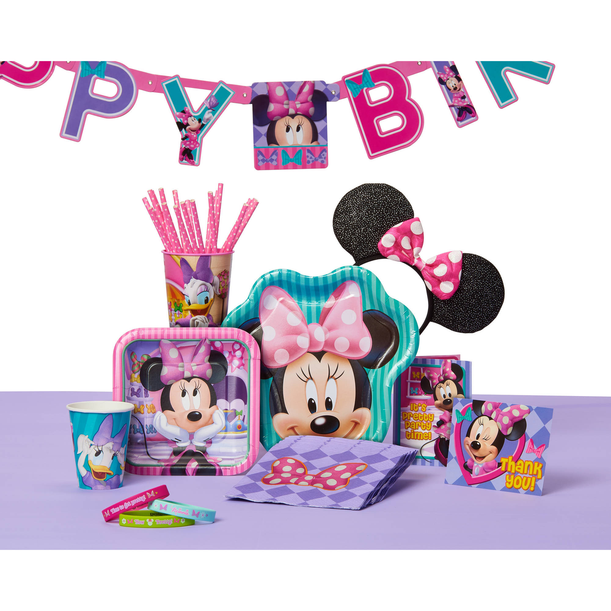 Best ideas about Walmart Birthday Decorations . Save or Pin Minnie Mouse Party Supplies Walmart Now.